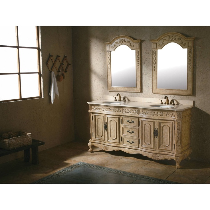 Pin by debbie norris on bathroom renovations pinterest - Antique traditional bathroom vanities design ...