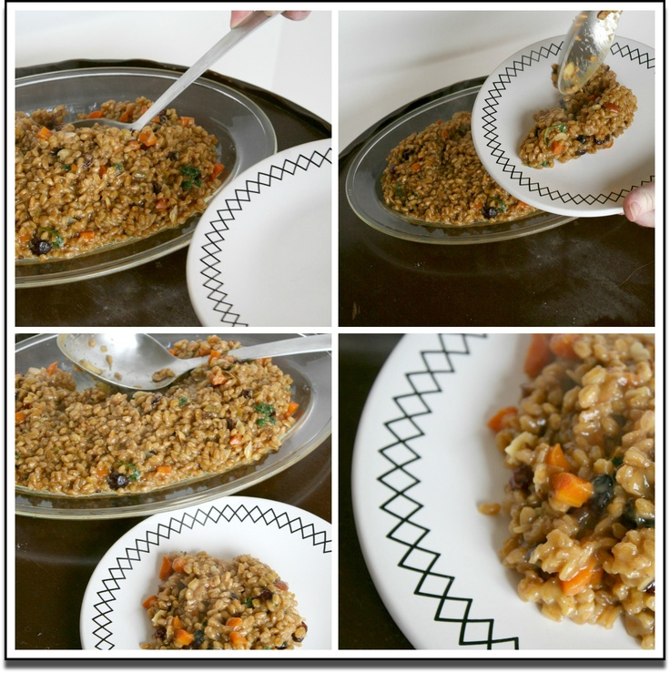 Farro Risotto | EatWriteRetreat recipes | Pinterest