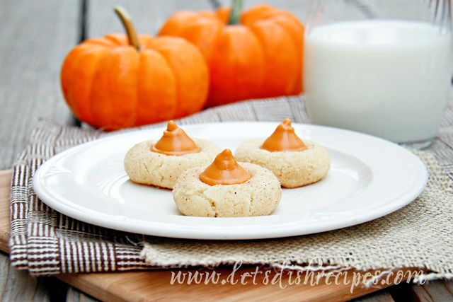 Pumpkin Spice Blossoms | Cookies & Candies | Pinterest