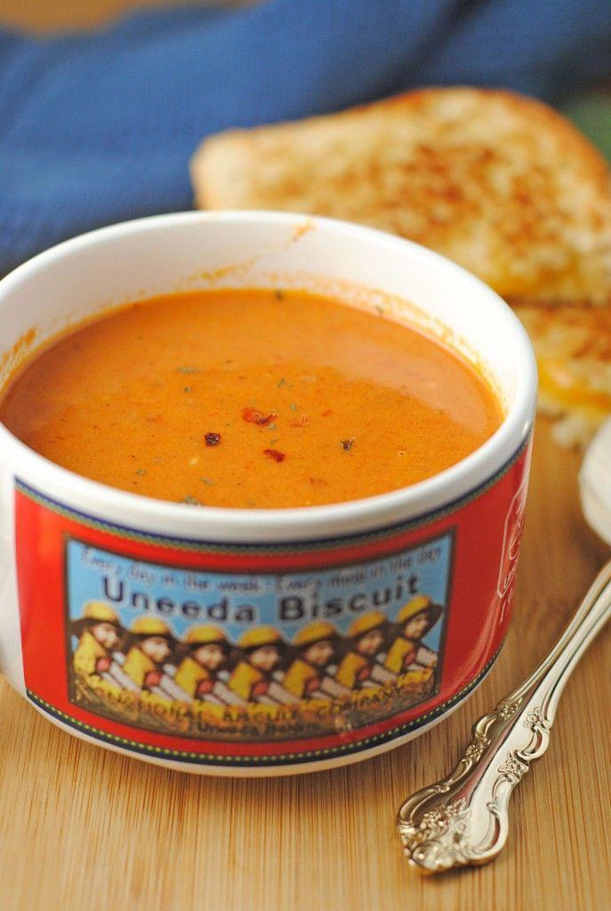 Easy Tomato Soup | Food | Pinterest