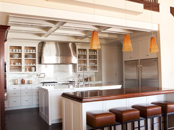 Kitchen Cupboards Different Colours : Inside of cabinet different color  Kitchen  Pinterest