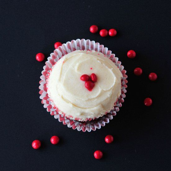 Southern dessert with a kick! Southern Comfort red velvet cupcakes ...