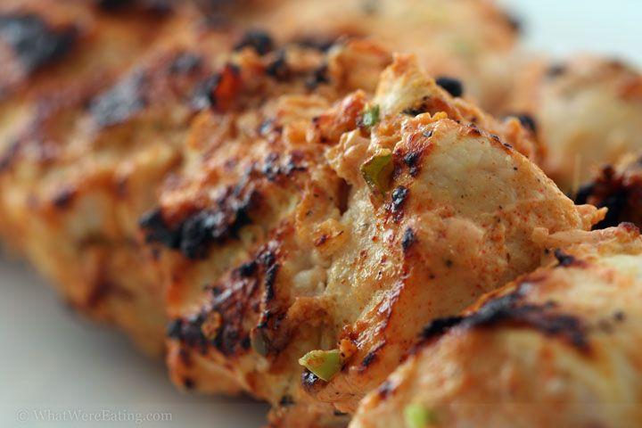 Tangy Tandoori Turkey Kabobs | Chicken Turkey Duck Dishes! | Pinterest
