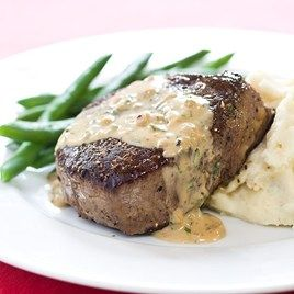 Filet Mignon With Bacon Cream Sauce Recipes — Dishmaps