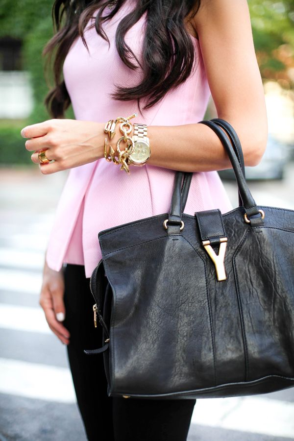 YSL bag.