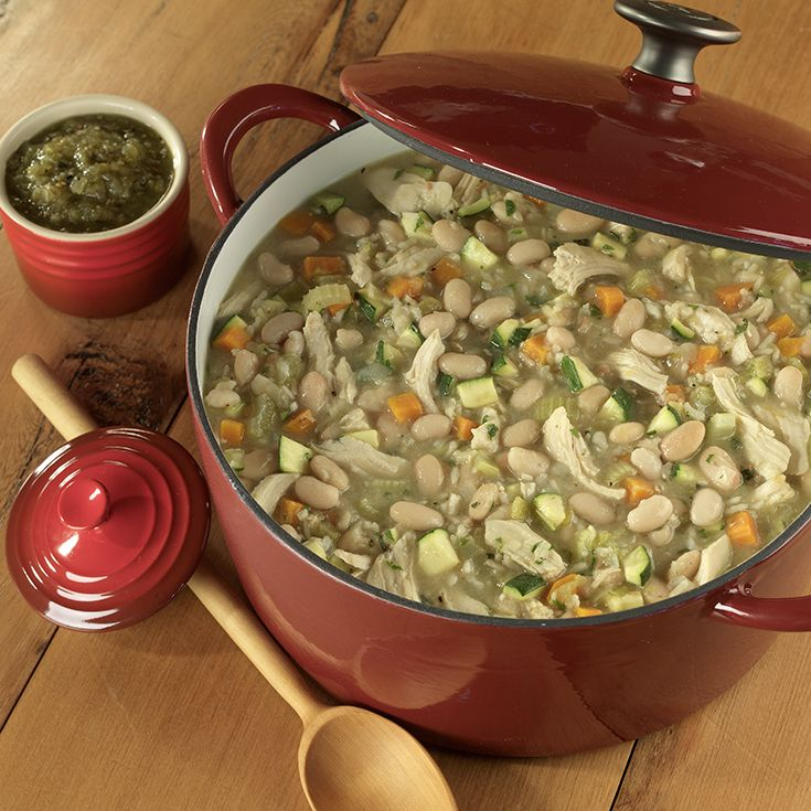 Winter White Bean Chili: Full of yummy flavor and lots of vegetables ...