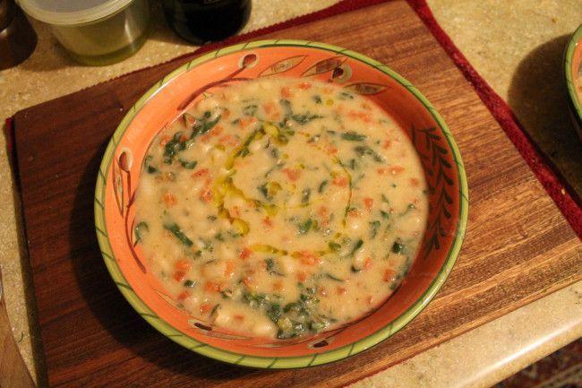Winter White Bean Soup | Gourmet Gamine | Salsas, Stews & Chili | Pin ...
