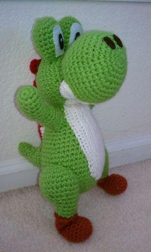 Crochet Patterns Yoshi : Ravelry: Free Amigurumi Yoshi Pattern pattern by Trischa Morales