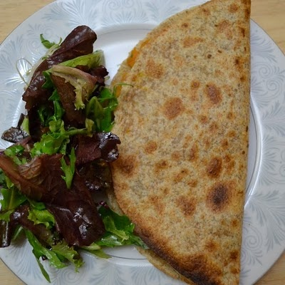 Curried sweet potato quesadillas | for cooking | Pinterest