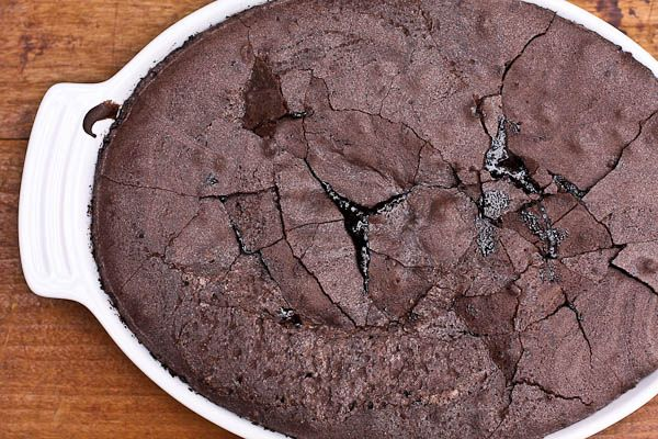 ... january and a recipe: chocolate brownie pudding | The Merry Gourmet