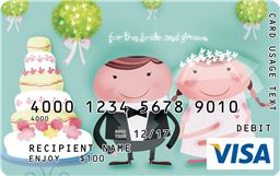 Visa Gift Card As Wedding Gift : Found on giftcard.com