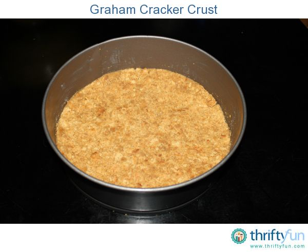 Graham cracker crusts are delicious, super easy to make, and perfect ...