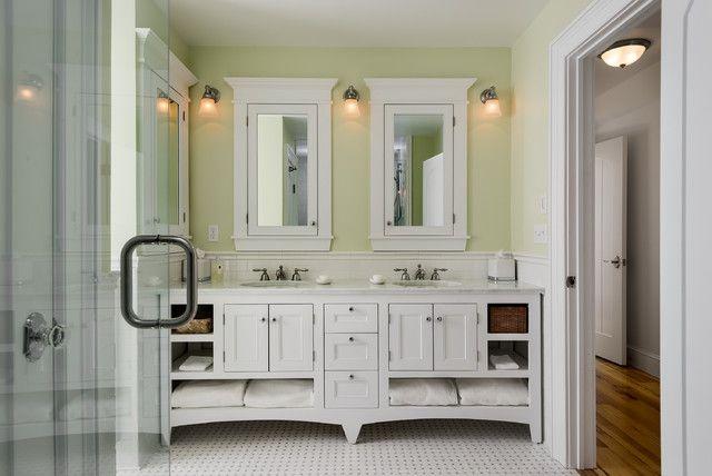 Bathroom Vanity In Cozy Area Country Home White Bathroom Vanity Ideas
