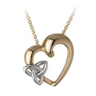 valentine ring necklace