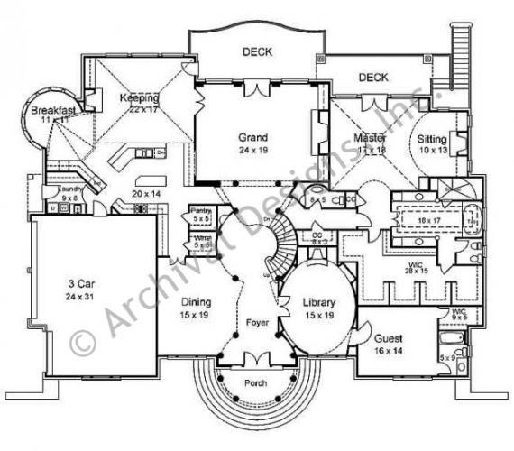 Regency floor plan home floor plans pinterest for Regency house plans