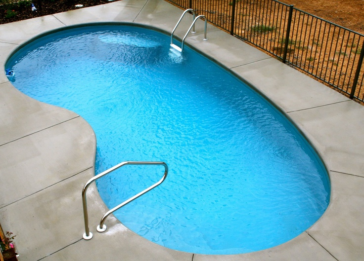 Fiberglass Inground Pool Pools Pinterest