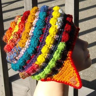 Crochet Popcorn Stitch Hat