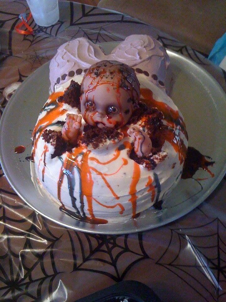 halloween baby shower cake halloween2 pinterest