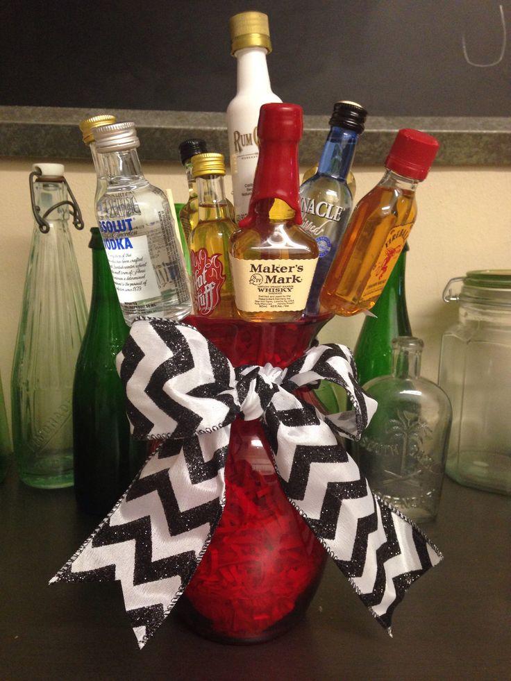 diy liquor bouquet food and drinks pinterest