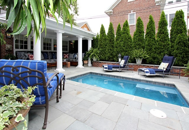 Perfect Size Pool For A Small Yard Out By The Pool