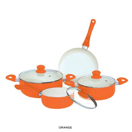 Orange Cookware | It's All About Orange | Pinterest