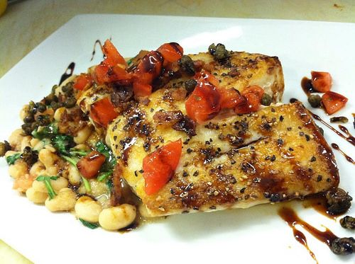 South Walton Dining: 723 Whiskey Bravo & Grilled Grouper and Stewed ...