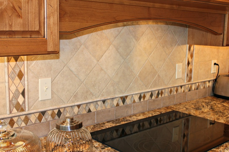 Custom backsplash kitchen remodeling ideas pinterest for Backsplash ideas for kitchen pinterest