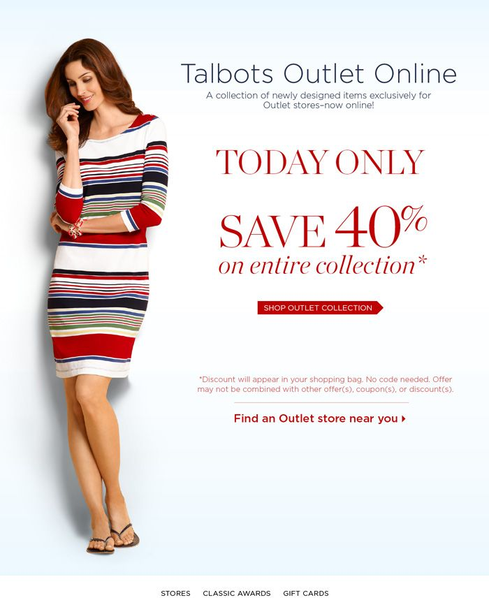 Talbots coupon code