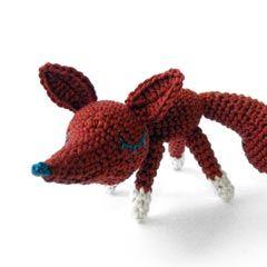 Amigurumi Fredrick the Fox Crochet Toy Pattern - Crochetville