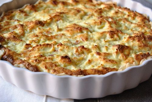 Ricotta and Leek Tart | Appetizers and Dips | Pinterest