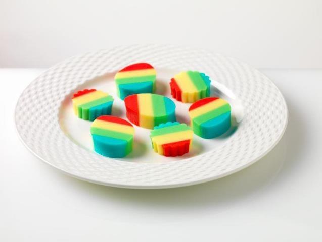 Jello Jigglers | Catering platters | Pinterest