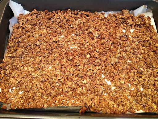 Apple Cinnamon Granola | food | Pinterest