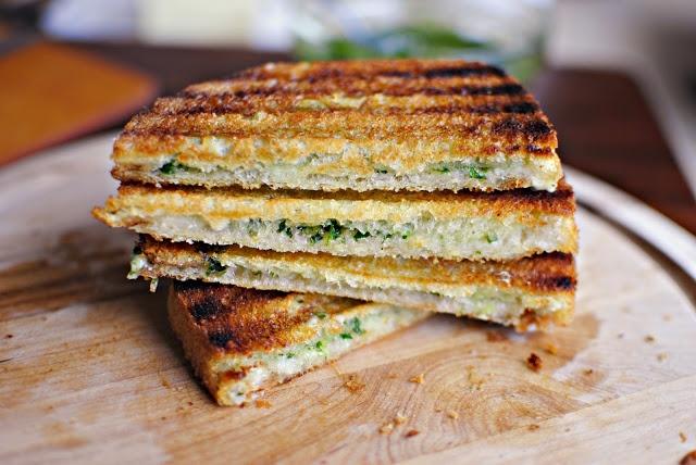 Fresh Herb Pesto & Fontina Panini | Sandwiches | Pinterest
