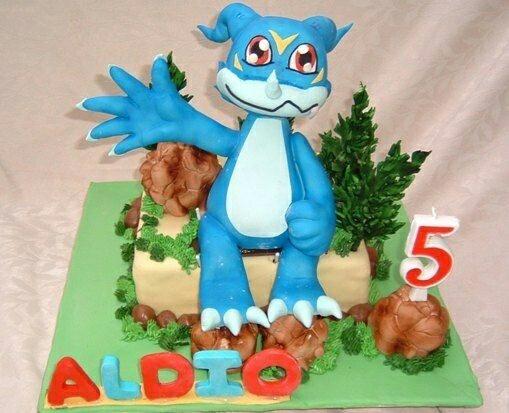 digimon cakes