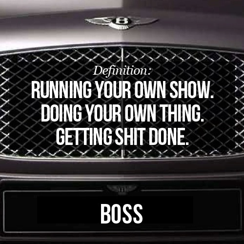 The definition of boss | Miscellaneous | Pinterest