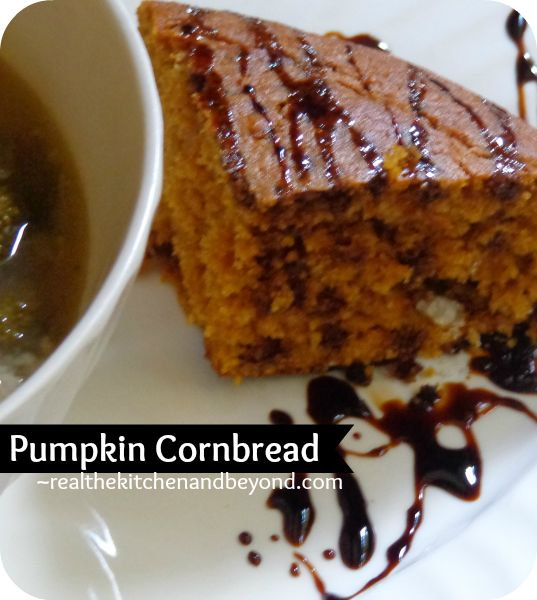 Pumpkin Cornbread | My Pumpkin Obsession | Pinterest