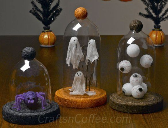 how to make a halloween decorations at home