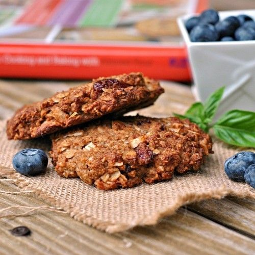 Coconut-Oat Breakfast Cookies Recipe | Breakfast foods | Pinterest