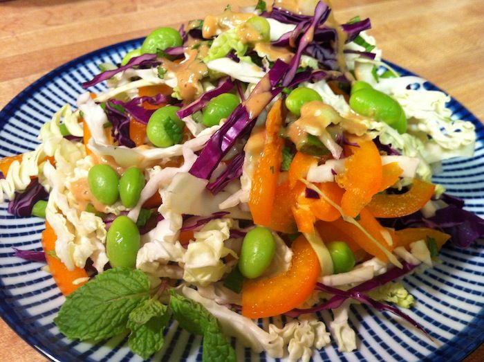 Peanut-Lime Cabbage Slaw | Meatless Wonders | Pinterest