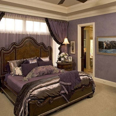Bedroom purple and brown my style decor pinterest for Brown and purple bedroom ideas