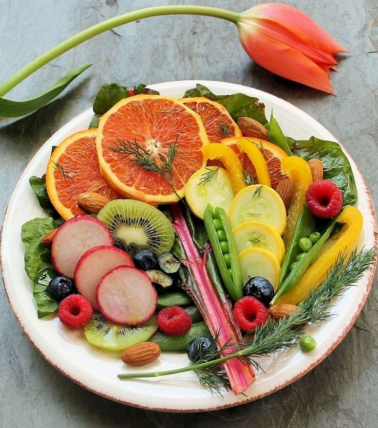 Welcome Spring with this Antioxidant-Rich Full Spectrum Salad with ...