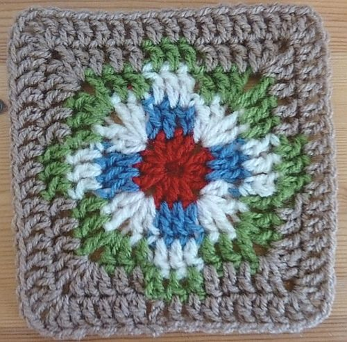 Crochet Navajo Stitch : Navajo Square crafts crochet Pinterest