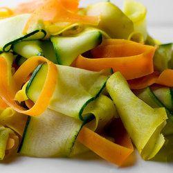 Summer Vegetable Ribbons | Paleo Recipes | Pinterest