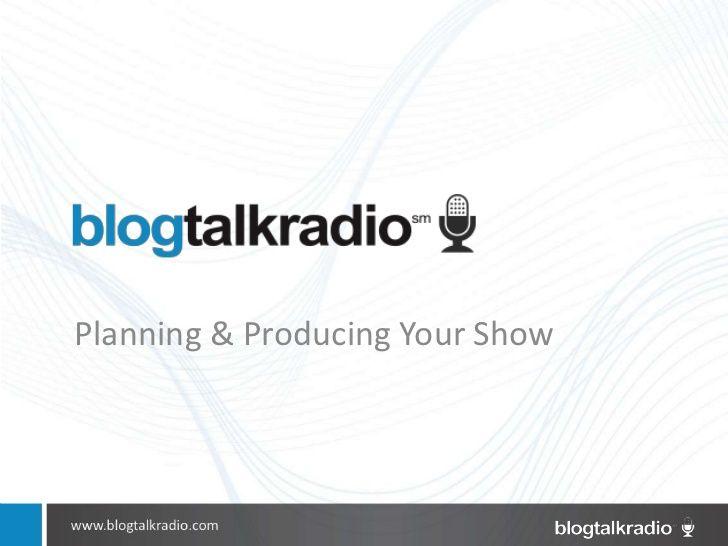 minute radio shows blogtalkradio