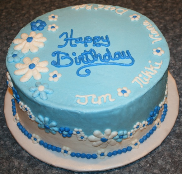 fondant birthday cakes for men