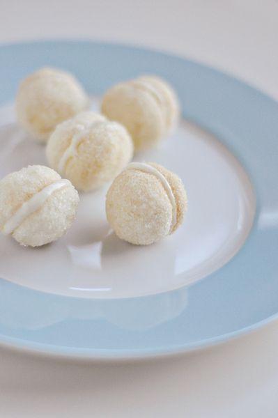 lemon sandwich cookies mini sf32-03 | Cookies | Pinterest