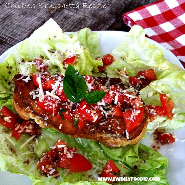 Chicken Bruschetta ~ I love tomatoes!