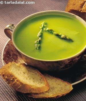 Fresh Asparagus Soup ( Healthy Soups and Salads | Recipe