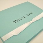 Tiffany Blue Thank You Cards
