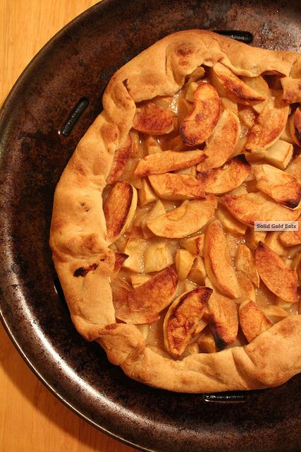 Country Apple Galette | Sweet Treats | Pinterest